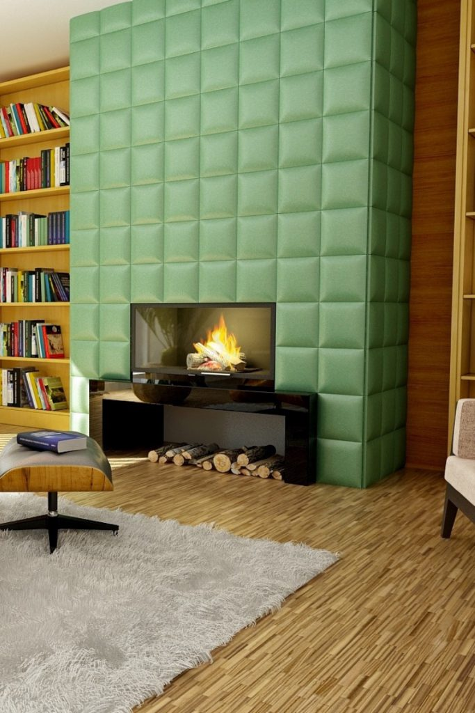 3-D wall covering